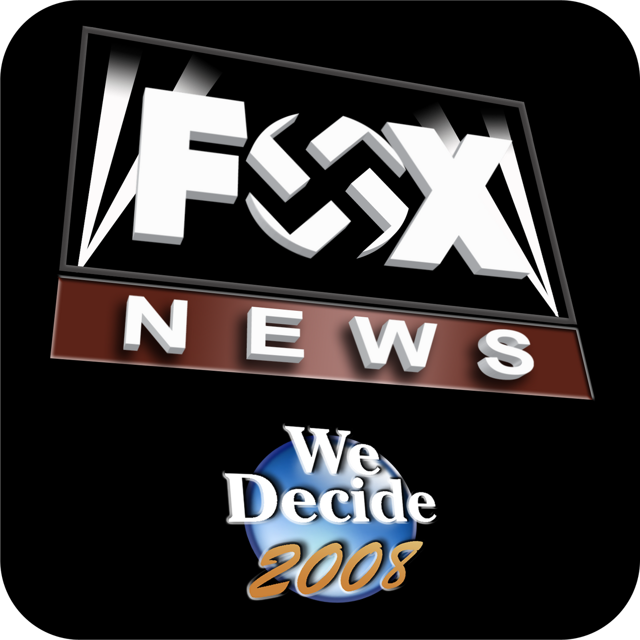 Fox News We Decide 2008 by ayebretwalda