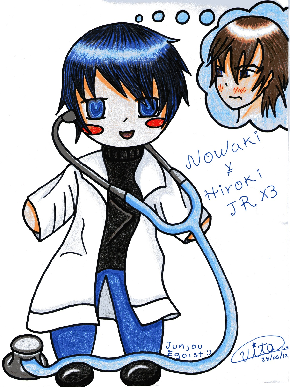 The Love Dr. Nowaki by vitainuka