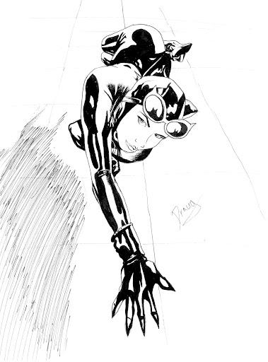 Catwoman by Draugwenka