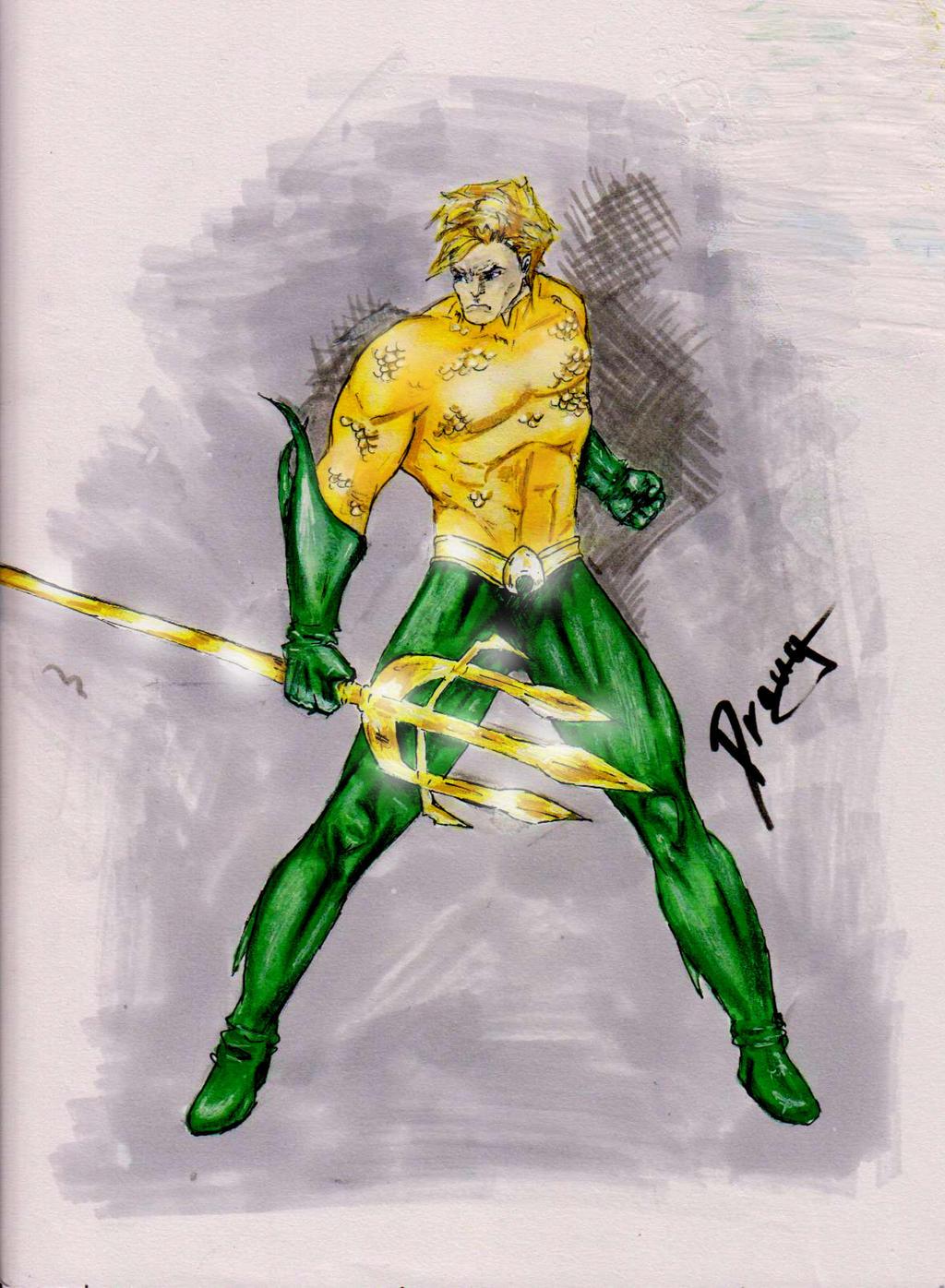 Aquaman by Draugwenka
