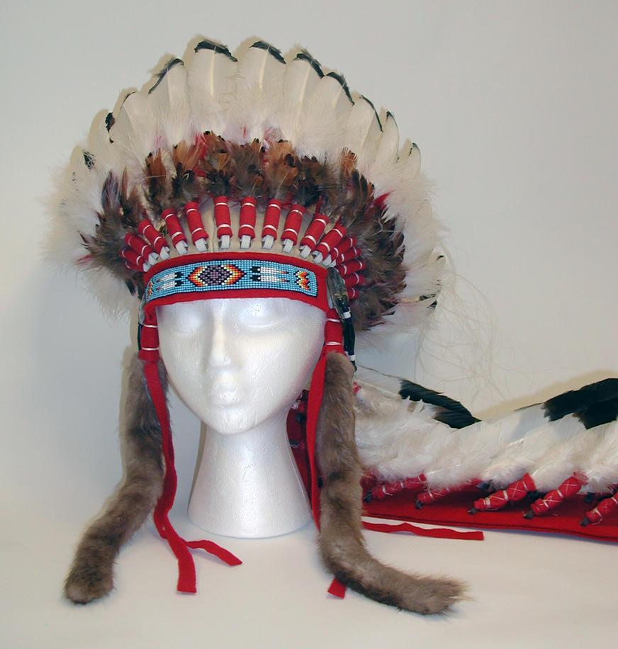 Indian Chieftain Headdress by Ela-Hara