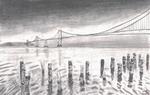 Moonlight Bay Bridge by Terisa-san
