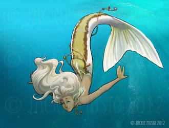 Kiki, Fin Style by Jackie-M-Illustrator
