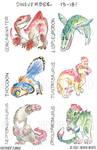 Dinovember Days 13-18! by Jackie-M-Illustrator