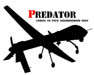 Predator Unmanned Aircraft by Daspuken