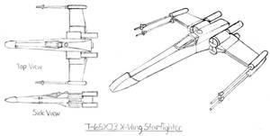 T-65XJ3 X-Wing Starfighter