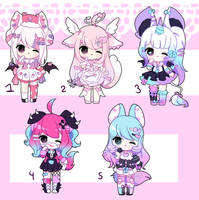 Set Price Adopts [CLOSES TY!] by Trashochist