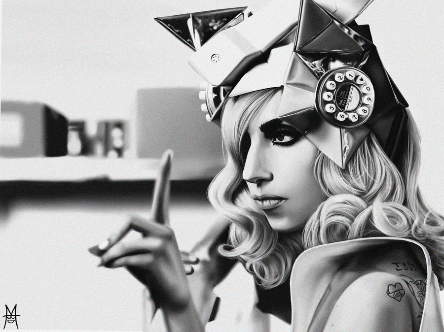 Lady GaGa Drawing