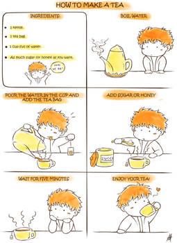 How to make a tea