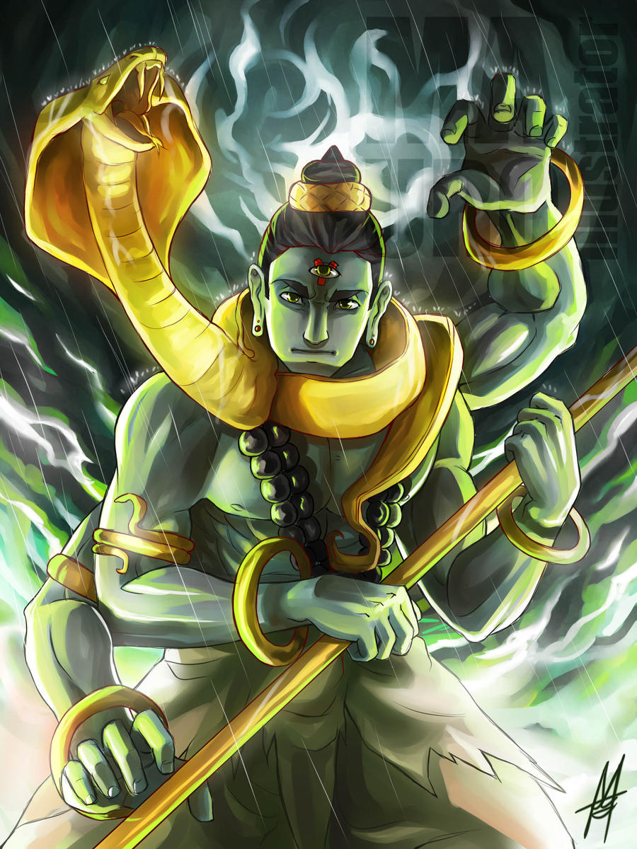Lord Shiva Angry Shiva the destructor by