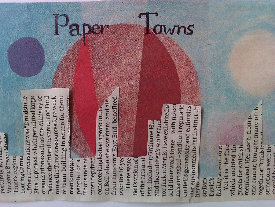 Paper Towns Book Cover Drawings : Paper towns by greeniepi on deviantart