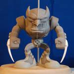Wolverine Subcast sculpt front