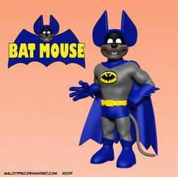 Batmouse Standing