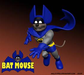 Batmouse Running