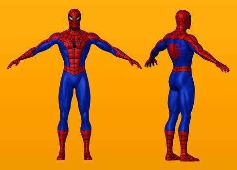 Spider-Man Digital Sculpt