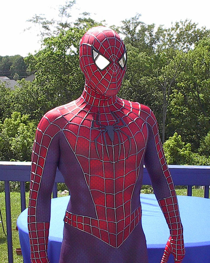 Spider-Man replica Costume by MalottPro on DeviantArt