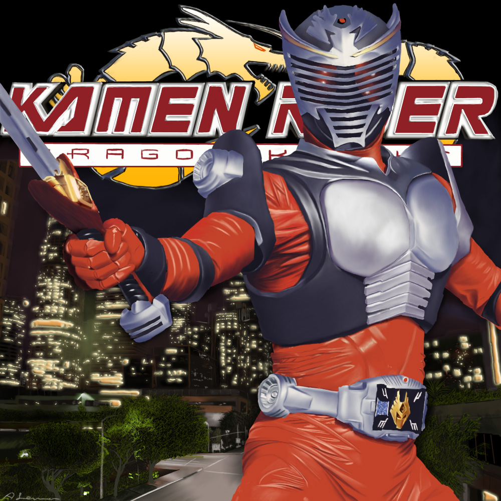 Kamen Rider Dragon Knight by ShadowRangerBlue on DeviantArt