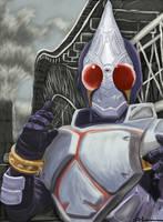 Kamen Rider Blade Speed Paint by ShadowRangerBlue