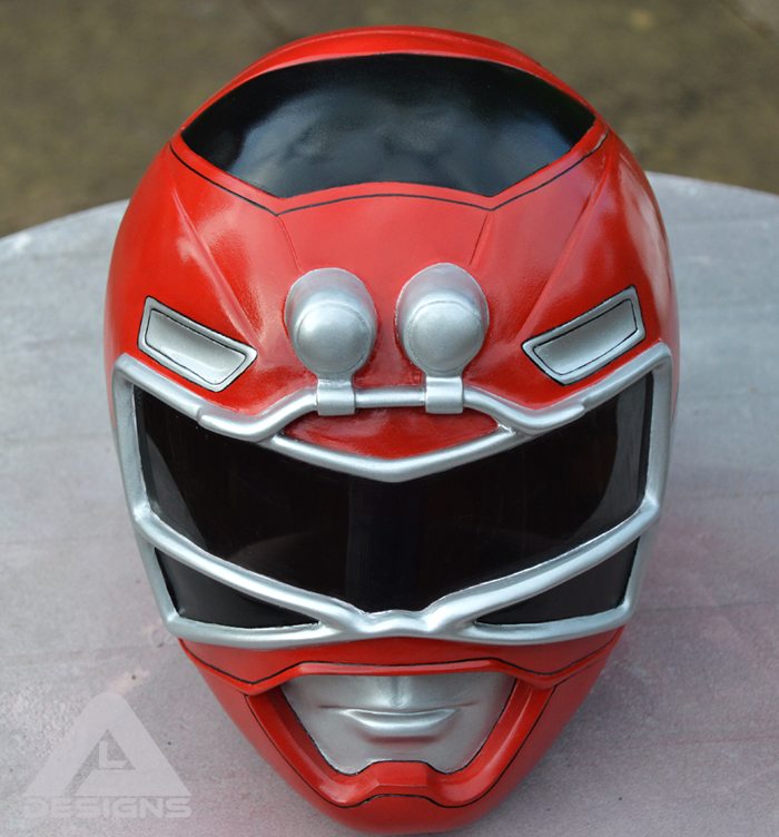 Red Turbo Ranger Helmet Power Rangers Turbo Re...