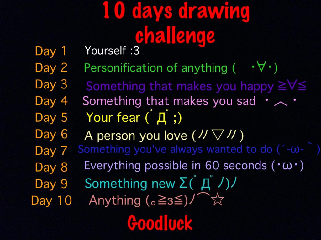 The Line Art Challenge Sketches For Days : Days drawing challenge by lucifer on deviantart