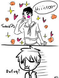 Just Tadashi being girly by Lucifer0305