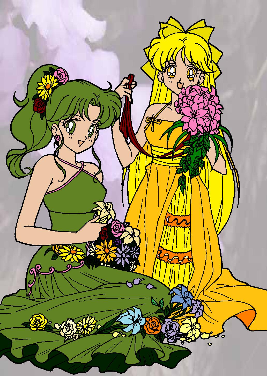Princesses Jupiter and Venus by HoshimyaIchigo
