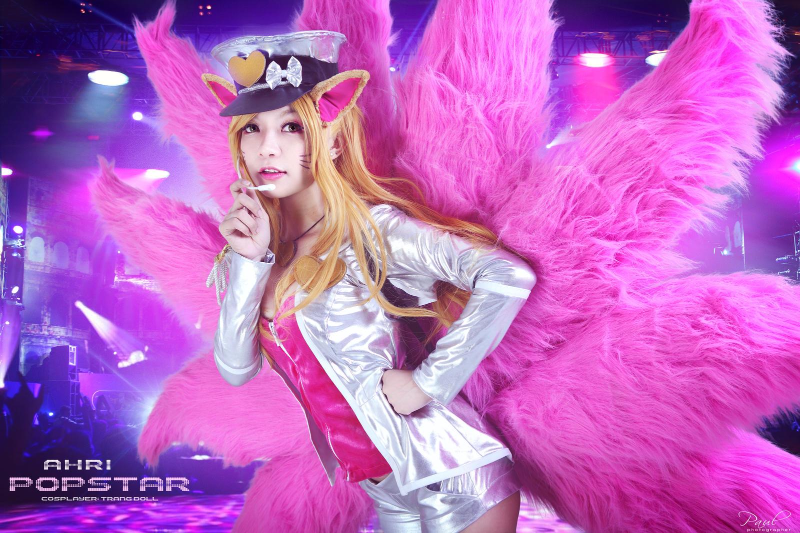 Ahri popstar by ZhanZao