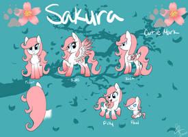New Sakura Reference Sheet by MissSakura-Senpai