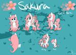 New Sakura Reference Sheet
