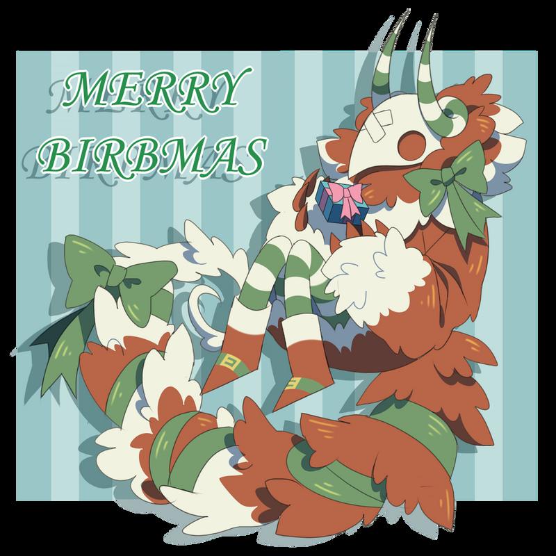 Merry Birbmas! by Pyro-Zombie