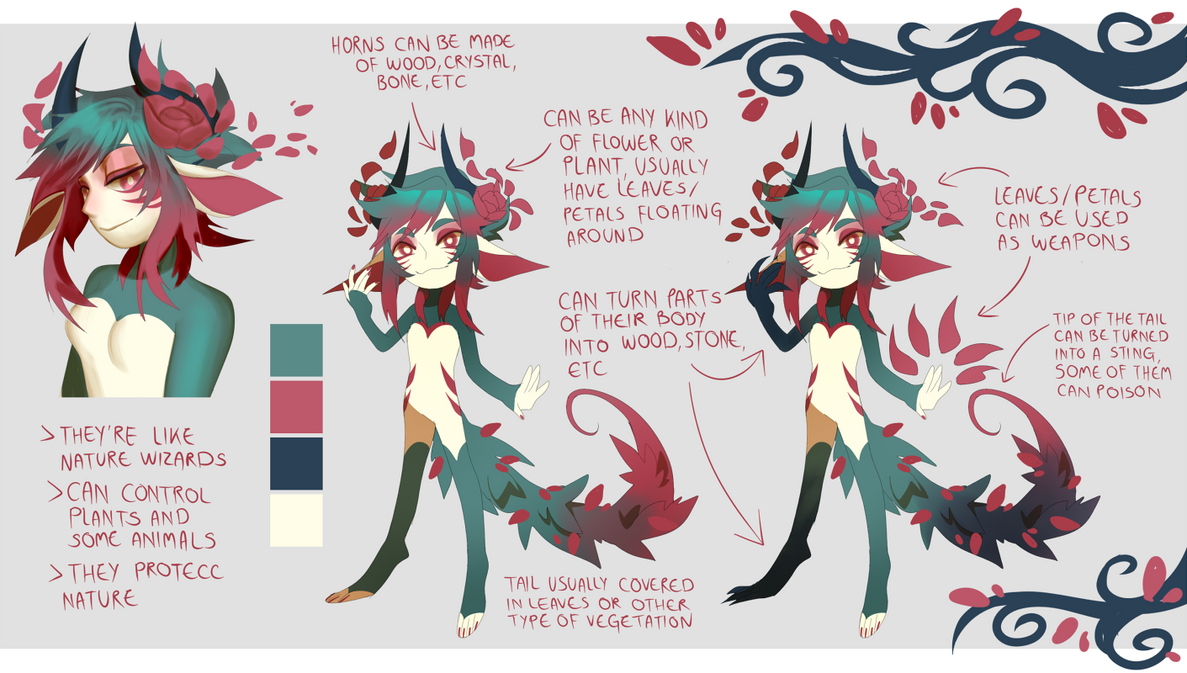 Species Concept Sheet + OTA (CLOSED) by Pyro-Zombie