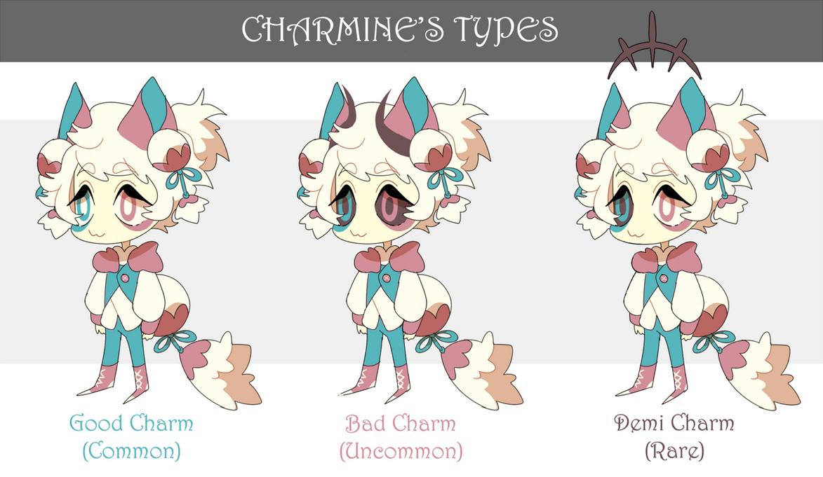 Charmine Types by Pyro-Zombie