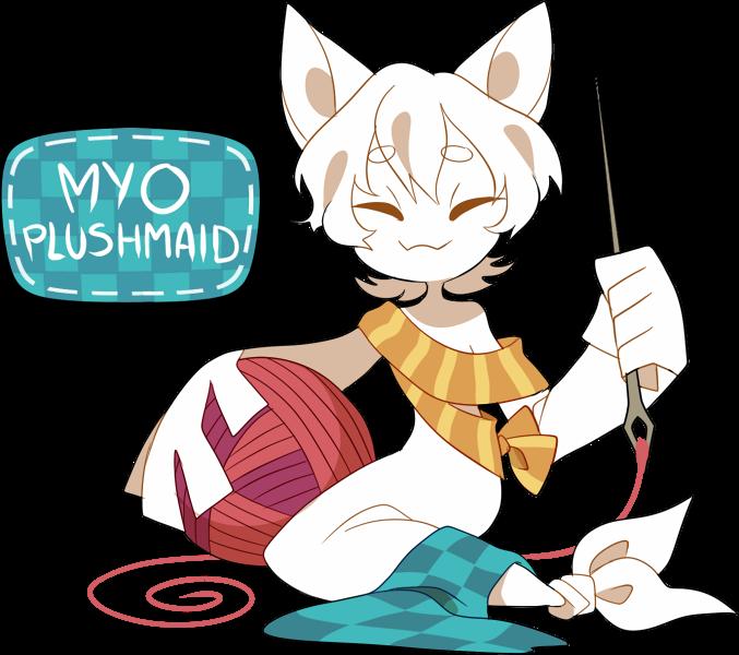 [CLOSED] MYO Plushmaid Mini-Contest (RESULTS!) by Pyro-Zombie