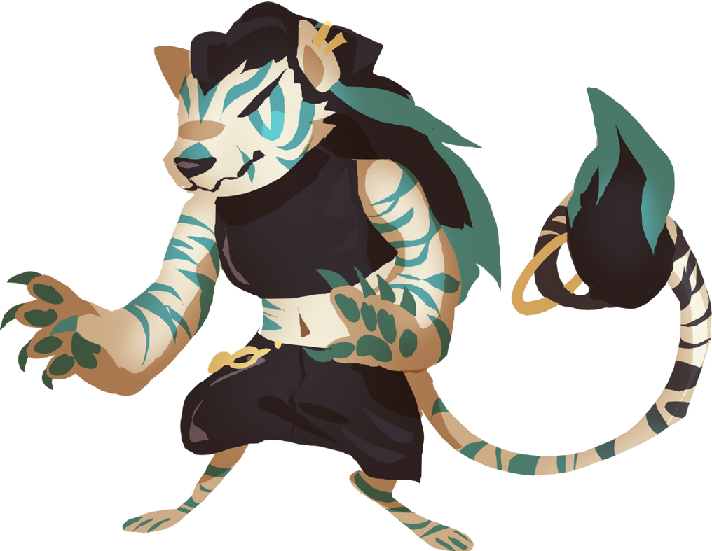 [CLOSED] Random Tiger Adopt by Pyro-Zombie