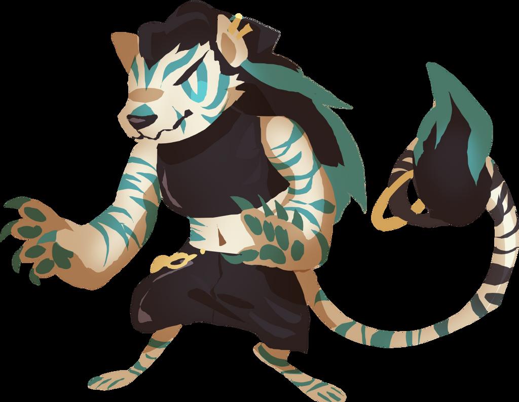 [CLOSED] Random Tiger Adopt by Pyro-Zombie