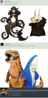 Halloween Costumes Part 1! by Pyro-Zombie