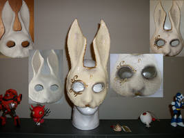 Splicer Bunny Mask by truesanji