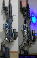 Fem Garrus Mass Effect Gun by truesanji
