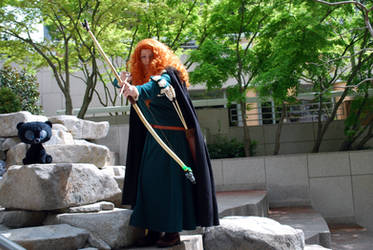 Merida Photoshoot - Shooting an arrow...