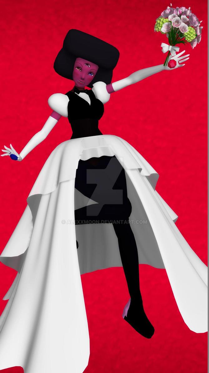 Wedding Garnet (Steven Universe x MMD) by AlexXMoon