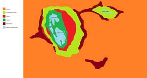 Tregama biomes map