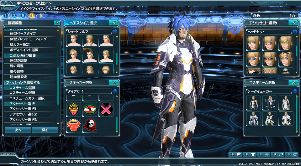 Make a character with the Phantasy Star Online 2 Character Creator ...