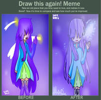 Draw this again meme!! by CrystalMiki11