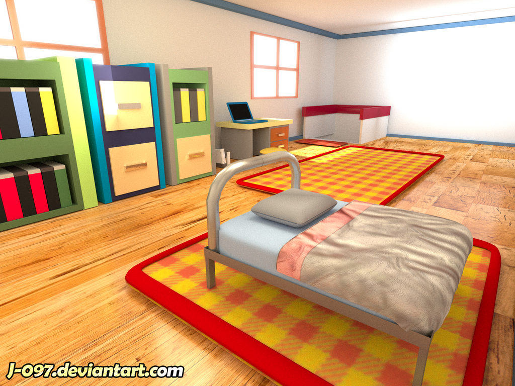 pokemon heart gold soul silver red 39 s bedroom 1 by j 097 on