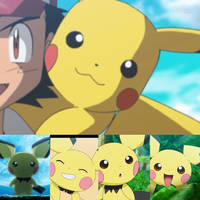Ash's Pikachu Real Beginning story as Pichu by Yingcartoonman