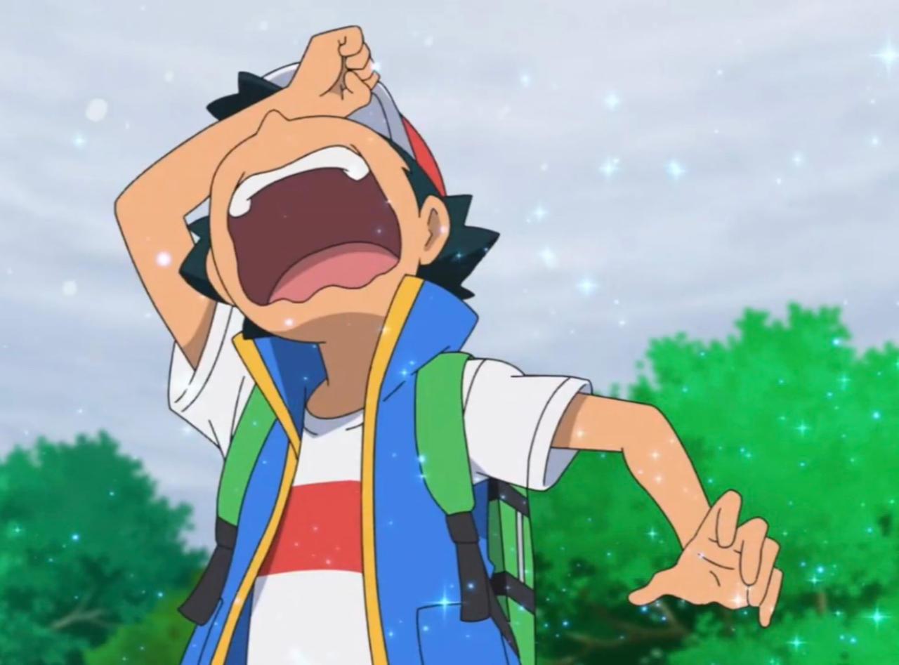 Ash Ketchum Crying