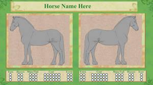 Horse Color Sheet Purchasable 2