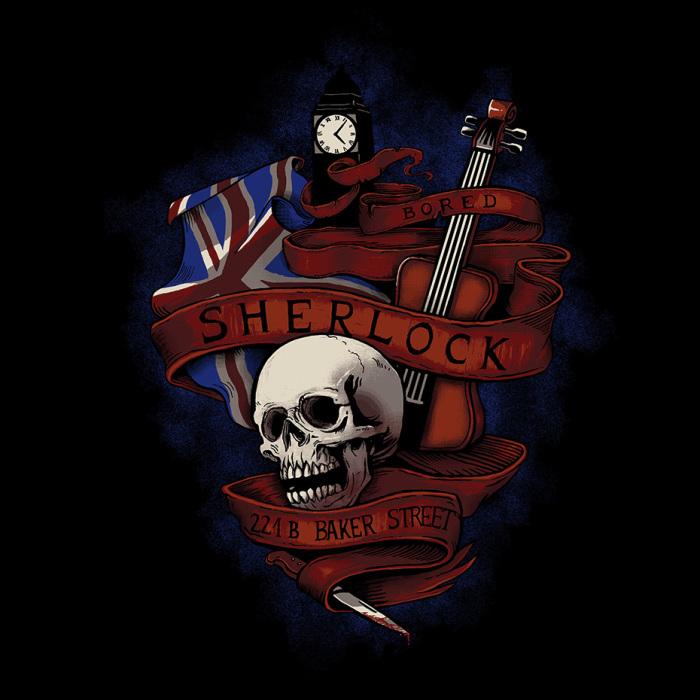 Sherlock by CrumblinCookie