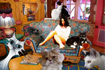 Crazy Cat Ladies: The Untold Story by MizzMAB