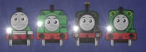 Green Engines Lights!